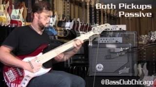 Aguilar, Bergantino, & Form Factor Lightweight Cabinet Demo By Bass Club Chicago