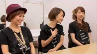 1期メンバー(中澤・安倍・飯田)和田薫元マネジャーと感動対面 2010/1...
