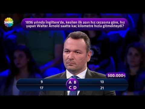 İddialı yarışmacı Burhan Dursun 500 Bin TL için yarıştı!