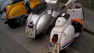 Vespa, LML, Lambretta Rollerweihe Traun 2010; Corso, Rennen,...