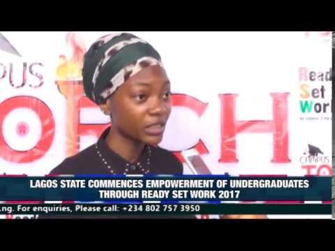 LAGOS STATE COMMENCES READY SET WORK 2017