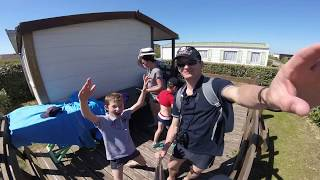 Le mobil home du Camping Belle Dune à 5 etoiles .