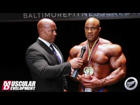 Victor Martinez' Post-Win Interview - IFBB Baltimore Pro 2016