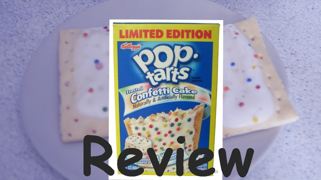 Pop Tarts Birthday Cake Flavor Review