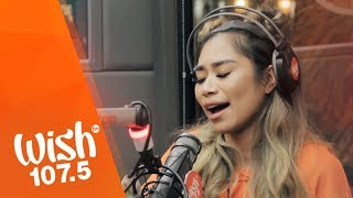 """Jessica Sanchez performs """"Caught Up"""" live on the Wish 107.5 Bus"""