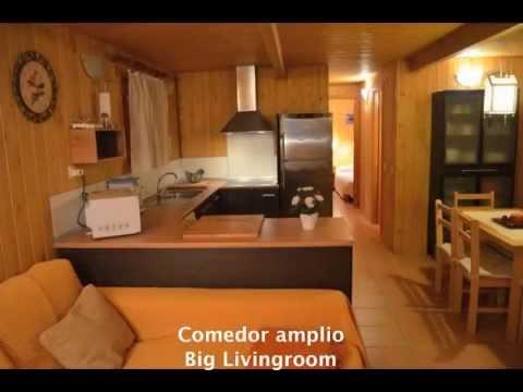 Mobil Home 5 Pax Serra de Prades - YouTube