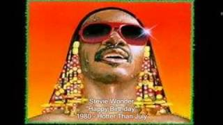 Video Stevie Wonder Happy Birthday Song 1980 Hotter Than July download MP3, 3GP, MP4, WEBM, AVI, FLV Juli 2018