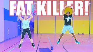 FAT BURNING WORKOUT - HIIT CIRCUITS - HOW & WHEN TO GO HARD WITH YOUR WORKOUT