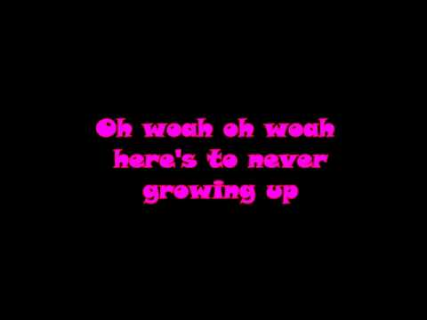 Download Avril Lavigne   Heres to Never Growing Up LYRIC VIDEO