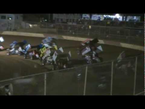 Trail-Way Speedway 358 Sprint Car Highlights 7-02-10