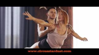Circus Stardust Agency Presents: Acro Dance, Cyr Wheel and Aerial Straps Duo (Artist 01499)