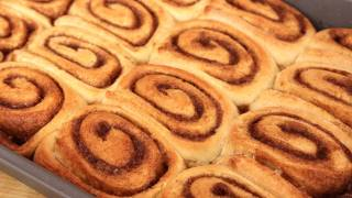 Homemade Cinnamon Rolls Recipe - Laura Vitale - Laura In The Kitchen Episode 300