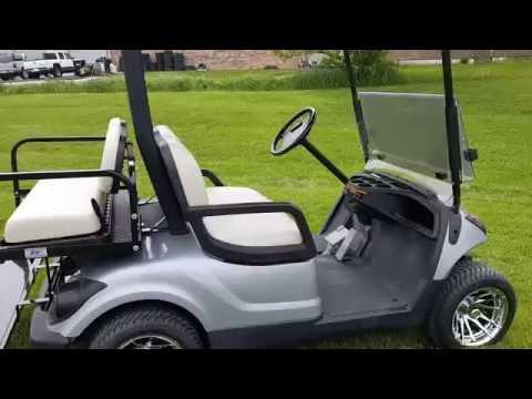 Yamaha Drive Gas Golf Cart For Sale FULLY CUSTOM