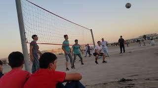 turkmen volleyball match