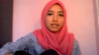 Repeat youtube video Akhiri Penantianku by Alif Satar (cover by Farah)
