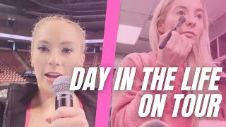 A day in the life on tour!!!