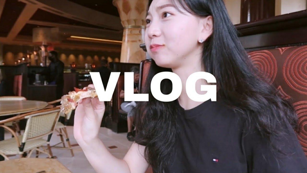 [VLOG]미국브이로그|치즈케익 팩토리 가서 밥먹고 미국택배 언박싱|미국유학생|일상브이로그
