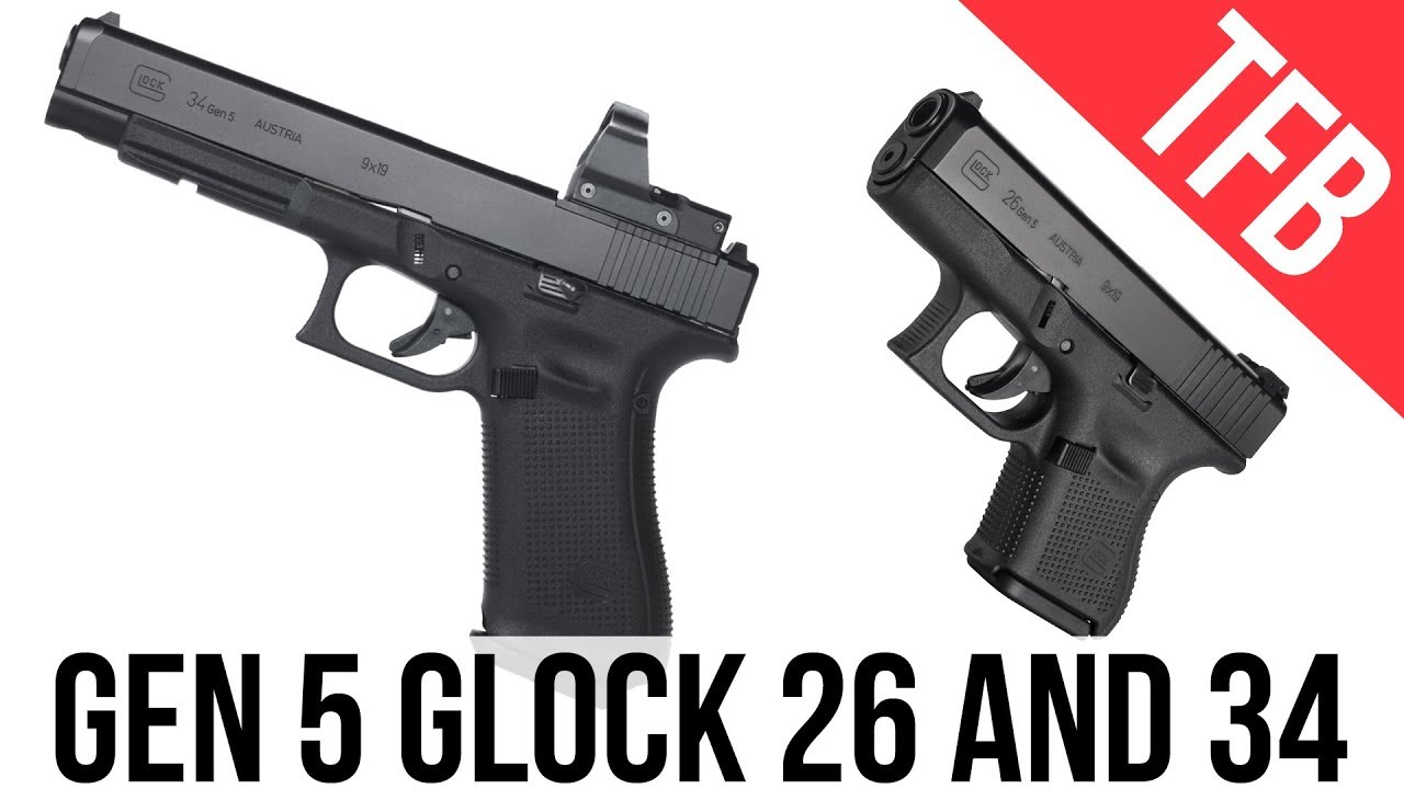New More Glocks For 2018 The Glock 26 And Glock 34 Mos Now In