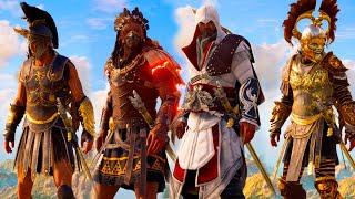 Assassin's Creed Odyssey - All Legendary Armor Sets for Alexios Showcase – (ALL DLC)