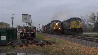 Ep. 405: 183-car CSX Freight Train! Q327 Departing Grand Rapids