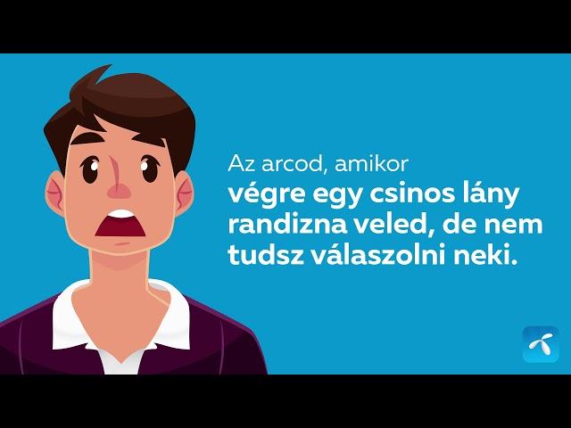 A MyTelenorral feltöltheted az adatkeretedet, így nem kell félni, hogy lemaradsz a randiról!