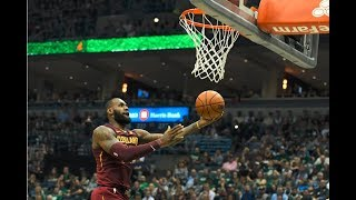 LeBron James And Giannis Antetokounmpo Duel in Milwaukee | October 20, 2017