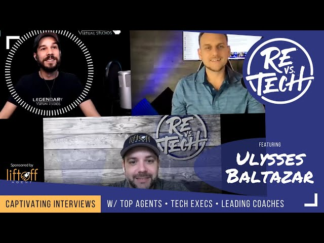 Using Virtual and Augmented Reality for Real Estate | Ulysses Baltazar ⁣⁣⁣⁣⁣⁣⁣⁣⁣| RE vs Tech | Ep#68