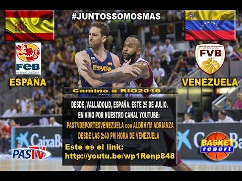 Venezuela vs España 20-08-2017