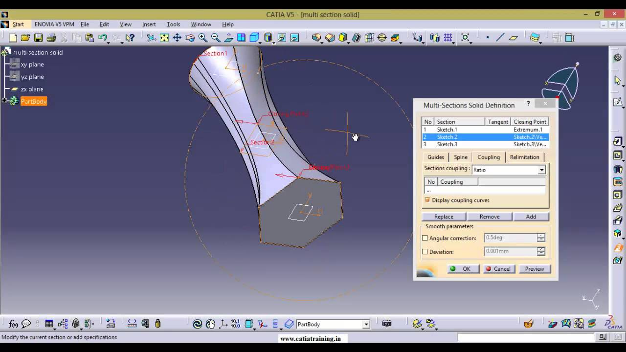 how to make a threaded hole in catia