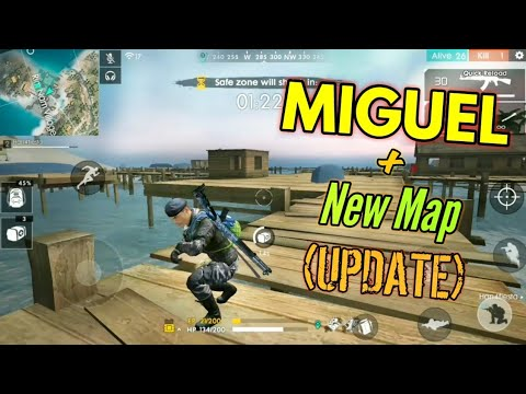 Using Miguel O Update New Maps Garena Free Fire