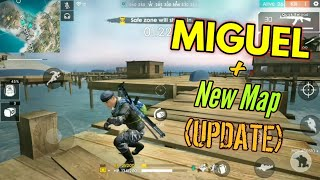 Using Miguel :o (Update) [New Maps] - Garena Free Fire