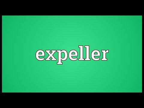 Header of expeller