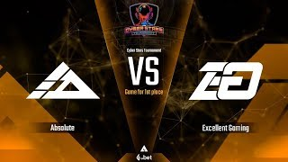 Absolute vs Excellent Gaming // Cyber Stars Tournament - FINAL