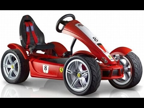 go kart voitures p dales jouets pour les enfants youtube. Black Bedroom Furniture Sets. Home Design Ideas