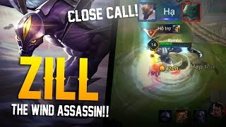 Arena of Valor [Test Server] - THE WIND ASSASSIN!! Zill Gameplay