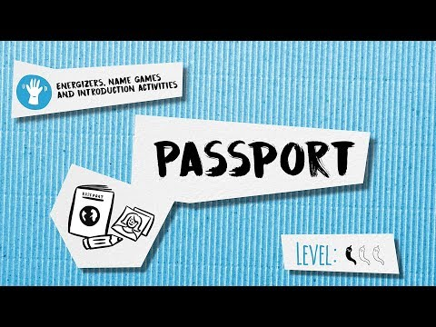 Getting To Know Each Other Activity: Passport
