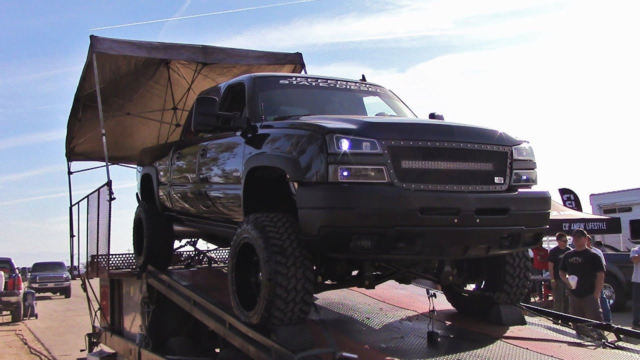 Lifted Gmc Sierra >> 2006 Chevy Silverado Duramax Dyno Pulls - YouTube