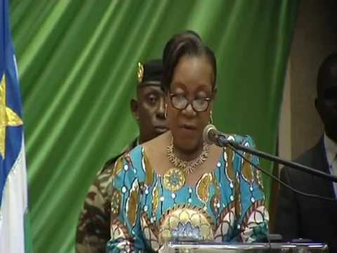 Marking 100 days-President Catherine Samba-Panza,Central Africa Republic