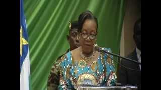 Marking 100 days-President Catherine Samba-Panza,Central Africa Republic