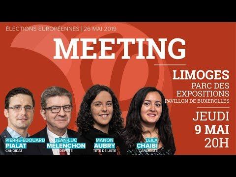 🔴 MEETING #LimogesFi avec JL. Mélenchon, M. Aubry, PE. Pialat et Leïla Chaibi #LimogesFi