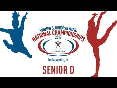 2017 Women's Junior Olympic National Championships - Senior D