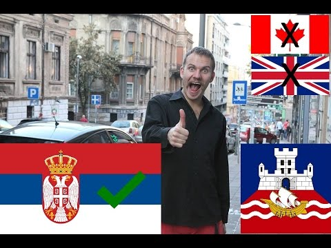Why I love SERBS!!! (AMAZING people in Belgrade!)