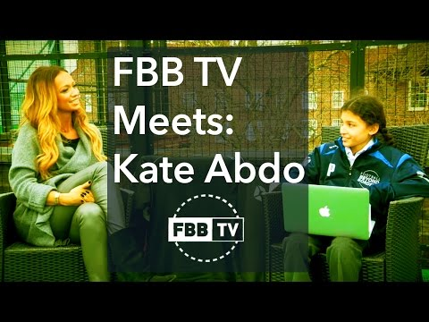 FBB TV MEETS: Kate Abdo on Neymar, Ronaldo, Messi, Seedorf and more...