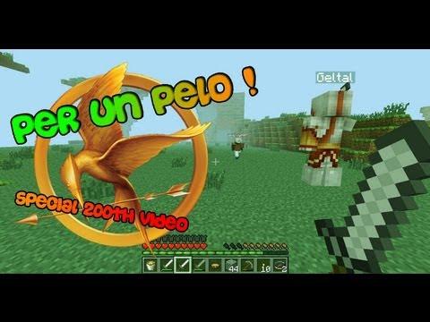 Per un PELO! - Scherzo a GiampyTek 2/2 - Minecraft Hunger Game