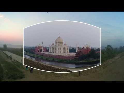 360◦ Film on Taj Mahal by Samsung & UNESCO