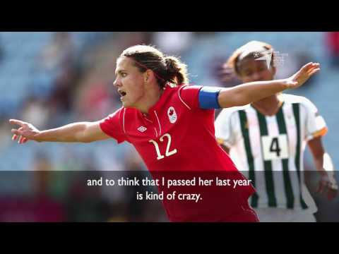 Christine Sinclair - 2017 BBC Women's Footballer of the Year nominee