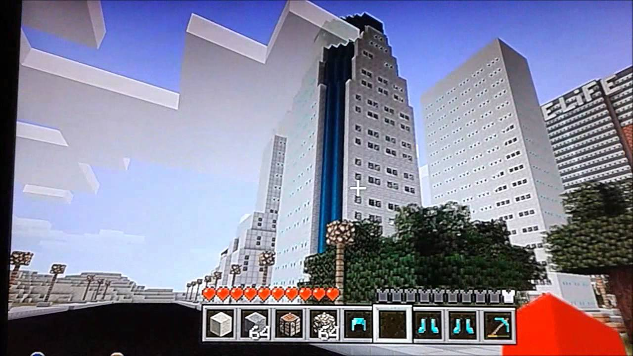Minecraft xbox 360 ville new york ackcodg4m3r youtube for Ville a new york