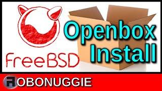 installing Openbox in FreeBSD 12.1 * Read Description