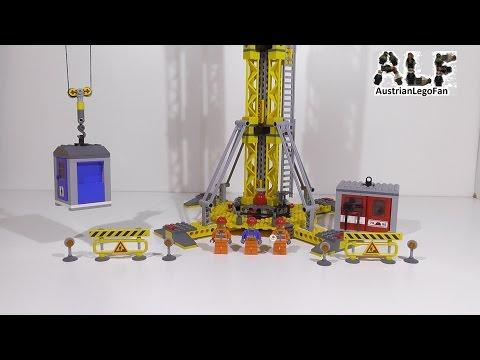 Lego City 7905 Building Crane / Grosser Baukran - Lego Speed Build Review