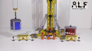 Lego City 7905 Building Crane / Grosser Baukran - Lego Speed Build Review